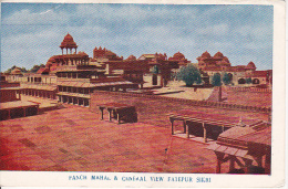PC Panch Mahal & General View Fatehpur Sikri (3187) - Indien