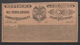 V061-KOLUMBIEN / COLOMBIA SPECIALIZED-CUBIERTAS:HG- CC11-33, 30 CVS- MINT- 189- - Kolumbien
