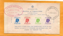 Cuba 1954 FDC - FDC