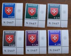 SMOM 2014 - CROCE OTTAGONA COMPLETE SET MNH** - Sovrano Militare Ordine Di Malta