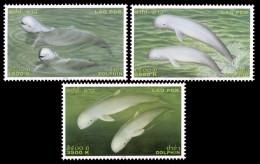 (275) Laos  2004 Dolphins / Dauphins / Delfine ** / Mnh  Michel 1917-19 - Laos