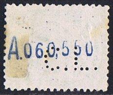 Alfonso XIII  20 Cts   Ed 272   Perforado  CL  Credit Lyonnais  Perfin - 1889-1931 Reino: Alfonso XIII