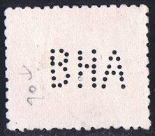 Franco  4 Ptas  Ed 1058  Perforado  B.H.A.   Perfin - 1889-1931 Reino: Alfonso XIII