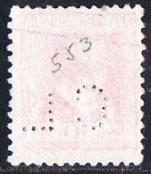 Lope De Vege 30 Cts  Ed 691  Perforado C.L. Credit Lyonnais  Perfin - 1931-Hoy: 2ª República - ... Juan Carlos I