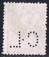 Tipo Pelón   50 Cts  Ed 224  Perforado  CL - 1889-1931 Reino: Alfonso XIII