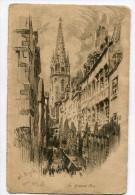 Saint-Malo La Grande Rue Par DOBA - Saint Malo