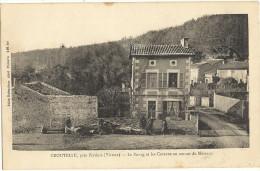 CROUTELLE  -  Pres POITIERS  -  Le Bourg Et Les Coteaux En Amont Du Mezeaux     52 - France