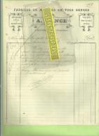 70 - Haute-saône - SCEY-SUR-SAÔNE - Facture RANCE - Fabrique De Meubles – 1919 - 1900 – 1949