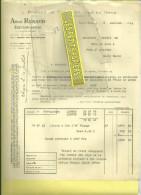 70 - Haute-saône - SCEY-SUR-SAÔNE - Facture RENAUD - Vins Et Pommes De Terre En Gros – 1948 - 1900 – 1949