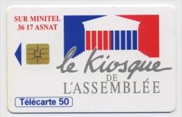 FRANCE - LE KIOSQUE DE L´ASSEMBLÉE - 50 U   (USAGÉ) - France