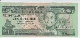 Ethiopia 1 Birr 1976 Pick 30a UNC - Ethiopie