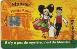 FRANCE - MUNSTER - 50 U  (USAGÉ) - France