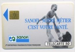 FRANCE - SANOFI - 50 U  (USAGÉ) - France