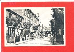 14 CABOURG  Cpa Animée Avenue De La Mer Et Hotel Du Casino              29 Artaud - Cabourg