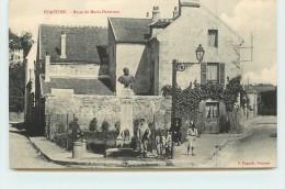 PONTOISE -  Buste De Maria Deraisme. - Pontoise
