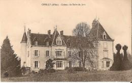CERILLY (03) : CHATEAU DU POINT DU JOUR. - Francia