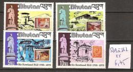 Bhoutan 539 à 542 ** Côte 6.75 € - Bhután