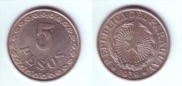 Paraguay 5 Pesos 1939 - Paraguay