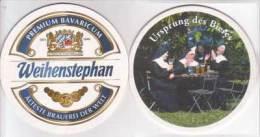 Weihenstephan Staatsbrauerei Premium Bavaricum , Ursprung Des Bieres - Bierdeckel