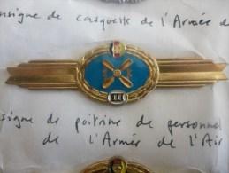 Insigne De Poitrine De Personnel Naviguant De L Armée De L Air - Alemania