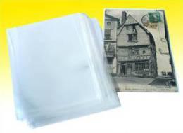 100 Etuis Cartes Postales Anciennes Epaisseur 70 Micron - Supplies And Equipment