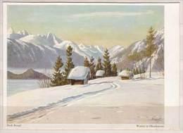 Rudi Krapf , Winter In Oberbayern - Malerei & Gemälde