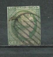 Espagne - 1853 -Y&T 20 - Oblitéré - 1850-68 Kingdom: Isabella II