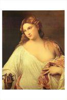 Titian  Flora Uffizi Florence Art Postcard - Peintures & Tableaux