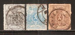 RO@: Nr 23 - 25  (a1173) - 1866-1867 Piccolo Leone