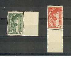 France     N° 354/55   Neuf   XX   BdF - France