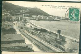 N°179 -  Alger - Boulevard Front De Mer - Avenue Malakoff Et Colline De N.D. D'Afrique  - Lak44 - Alger