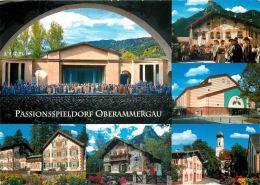 Passionsspieldorf Oberammergau Germany Postcard Used Posted To UK 2010 Austria Stamp - Oberammergau