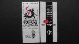 Israel - 1975 - Mi:637-8** MNH - Look Scan - Israele