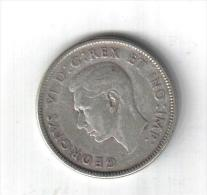 RedL - CANADA 25 Cents 1947 - Re Giorgio VI - - Canada