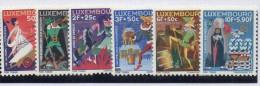 Serie Nº 672/7 Luxemburgo - Fairy Tales, Popular Stories & Legends