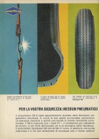 # GOODYEAR G8 1960s Car Tires Italy Advert Pub Pubblicità Reklame Pneumatici Pneus Reifen Neumaticos - Transportation