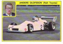 Panini Super Auto Sticker/Autocollant No 36  -  Anders Olofsson  -  Ralt Toyota - Panini
