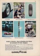 "# GOODYEAR G8 RALLYE MG ""B"" TRIUMPH JAGUAR PORSCHE 1970s Car Tires Italy Advert Pub Pneumatici Pneus Reifen Neumaticos - Transportation"