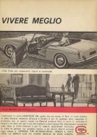# GENERAL TIRE USA 1950s Tires For Motorvehicles Italy FIAT Spyder Advert Pub Reklame Pneumatici Pneus Reifen Neumaticos - Transportation