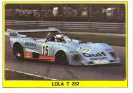 Panini Super Auto Sticker/Autocollant No 46  -  Lola T282 - Panini