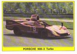 Panini Super Auto Sticker/Autocollant No 44  -  Porsche 908-3 Turbo - Panini