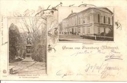 1902 - STERNBERK, Gute Zustand, 2 Scan - Czech Republic