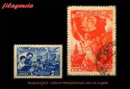 USADOS. RUSIA. 1947 DÍA INTERNACIONAL DE LA MUJER - 1923-1991 URSS