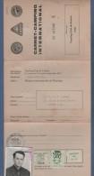 TOURING CLUB DE FRANCE - CARNET CAMPING INTERNATIONAL - 1969 SAUMUR - Documenti Storici