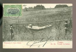 Congo  Kongo  Voyage En Hamac - Congo Belge - Autres