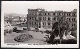 Brisbane - Queens Park And Treasury Buidings - Sidues Series 650 - Rare ! 1920s - 30 - Brisbane