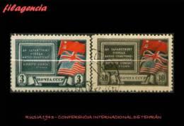 USADOS. RUSIA. 1943 CONFERENCIA DE LAS POTENCIAS ALIADAS EN TEHRÁN - 1923-1991 URSS