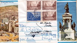 ARGENTINIEN 1959?, 4 Fach Frankierung Auf FP-Bildpost-Brief Von Buenes Aires Nach Brissago Schweiz - Argentinien