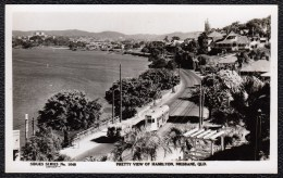 Brisbane - Pretty View Of BRISBANE WITH JOHN HICKS FACTORY   - Rare ! 1920s - 30 - Tram - Brisbane