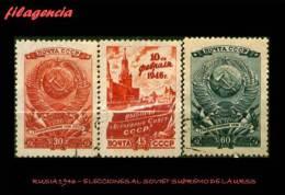 USADOS. RUSIA. 1946 ELECCIONES AL SOVIET SUPREMO DE LA UNIÓN SOVIÉTICA - 1923-1991 URSS